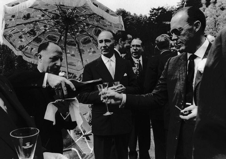 Prins Bernard met Fons Stevens