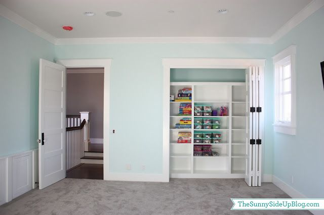 """The paint color of playroom is """"Icing on the Cake"""" - Benjamin Moore."""