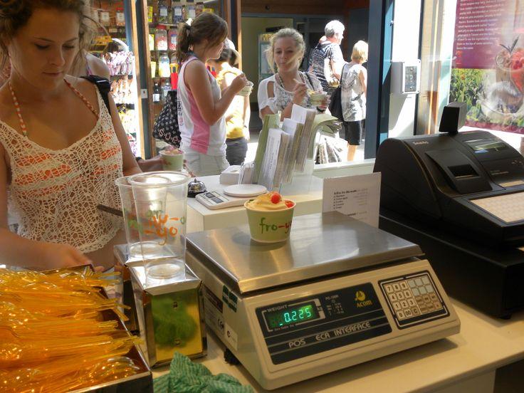 yummy creamy frozen yoghurt Fro-yo Shop 39, 58 SOUTHSIDE DRV, HILLARYS, Perth, Western Australia 6025