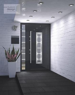 Aluminium Schüco ADS 70.HI  Haustür, Eingangstür - Anthrazit + Seitenteile  in Business & Industrie, Baugewerbe, Baustoffe & Bauelemente   eBay!