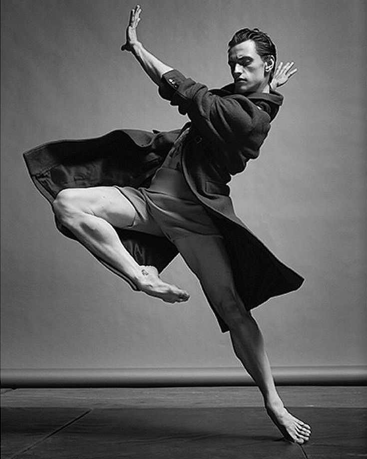 =|||= Sergei Polunin - I really like the jacket idea in this photo to show the movement.
