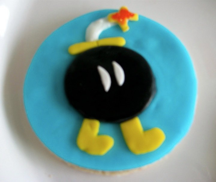 Mario bross cookies!