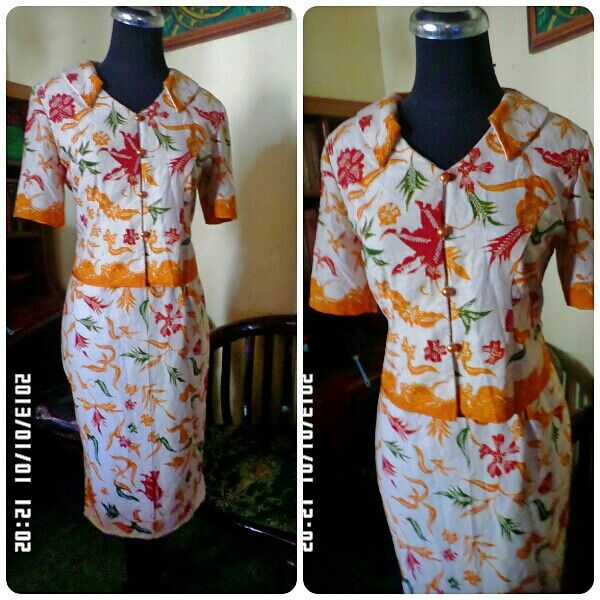 Wariza MODES Dress batik. Made by order...