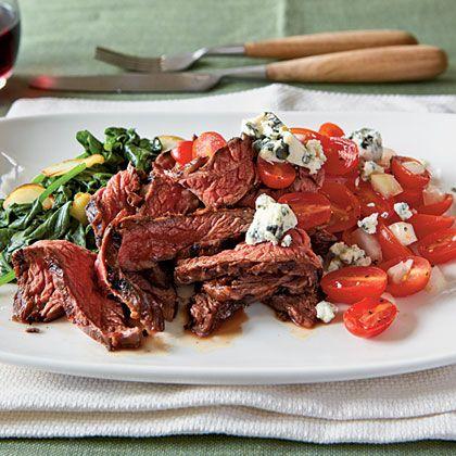 recipe: Grilled Balsamic Skirt Steak on My Recipes