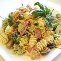The BEST pasta salad EVER! I'm not kidding....