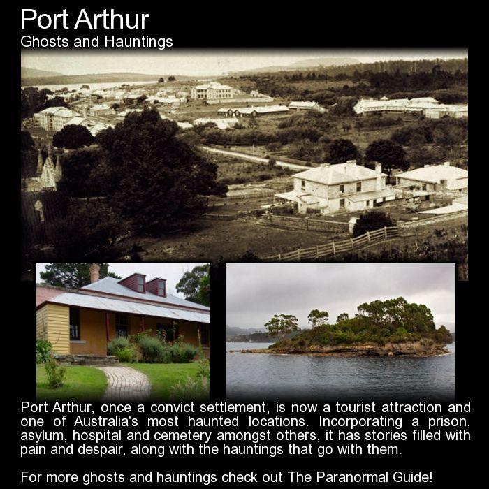 Port Arthur. A look at this locations history as a penal settlement and the ghosts from that time... Read more here: http://www.theparanormalguide.com/blog/port-arthur