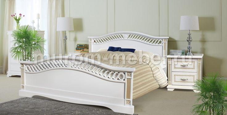 Gyazo - Кровать Милена из дуба - купить Кровати из дуба - деревянная мебель из массива - Google Chrome