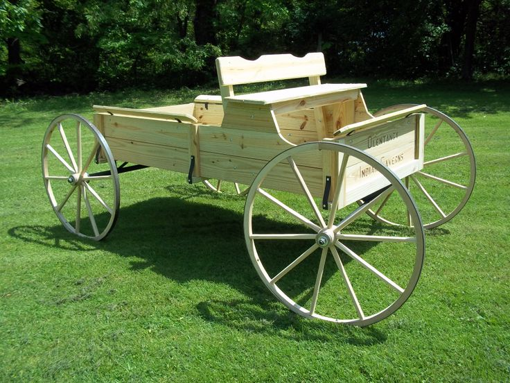Olentangy Indian cavern wagon