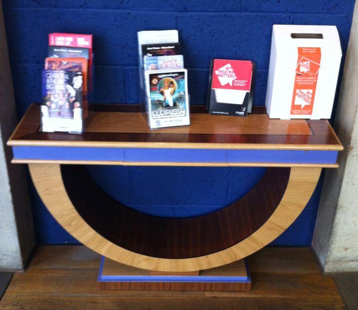 James Dreyfus used this table in Noel Coward's The Vortex