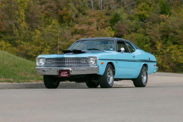 1974 Dodge Dart Sport Demon 318 V8 Correct Color Of Powder Blue