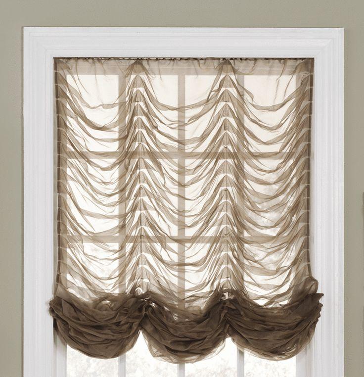 Французские шторы для спальни: идеи с фото