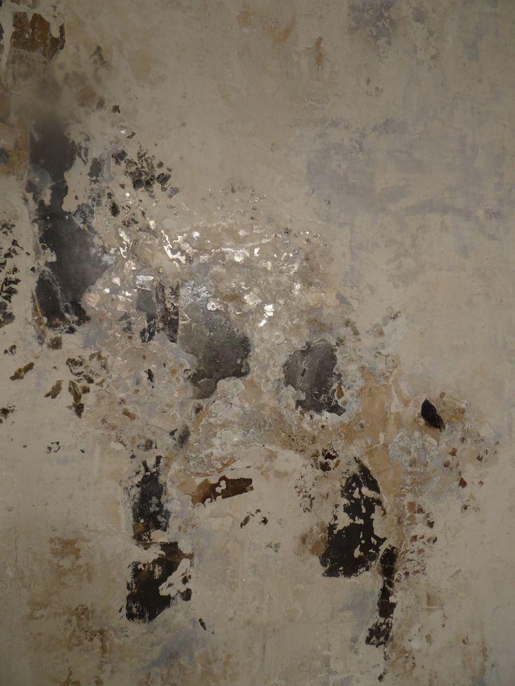 Venetian Plaster With Embedded Mica This Is A Very