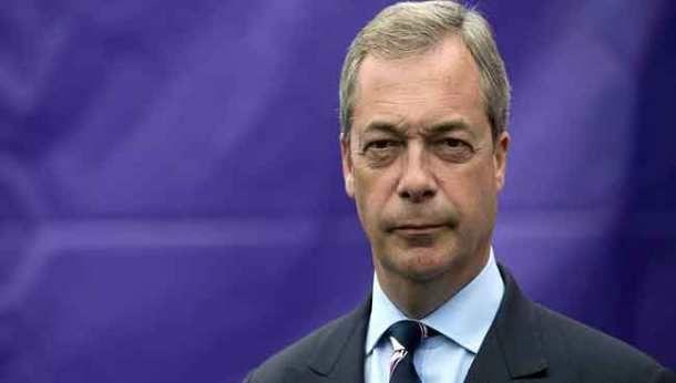 Ν.Φάρατζ προς ΕΕ: Είστε μαφιόζοι και γκάνγκστερς  Δόξα τω Θεώ σας αφήνουμε και φεύγουμε (βίντεο)