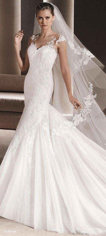 La sposa pandora wedding dress   best Wedding ideas images on Pinterest  Bridal hairstyles