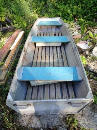 Aluminum Flat Bottom Boat
