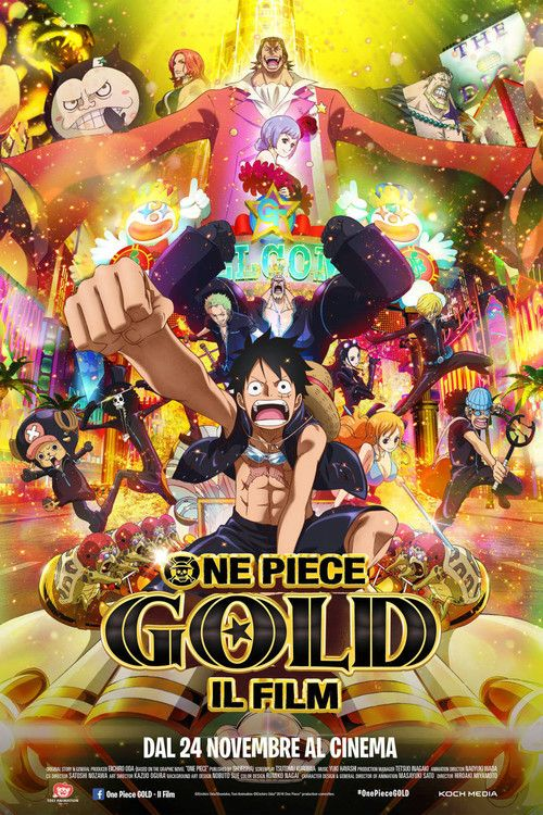 One Piece Film: GOLD Full Movie Online 2016