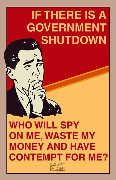 Government shutdown you say…