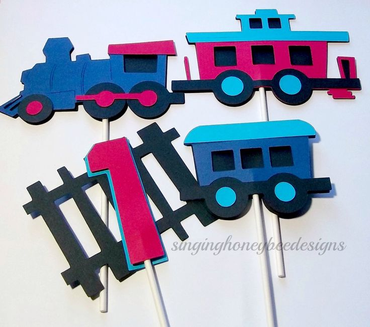Choo choo train cake topper, Train Cake Topper, Train Birthday party, Train table decor, Train centerpiece, Choo Choo Train Party Supplies by thesinginghoneybee on Etsy https://www.etsy.com/listing/220863781/choo-choo-train-cake-topper-train-cake