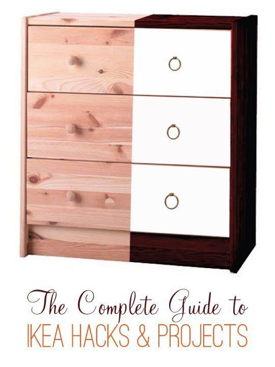 The Complete Guide to IKEA Hacks & Projects.