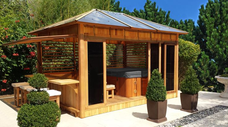 brise vue bois abri de jardin en bois lindo xl pergola ep 28 mm 14 34 m. Black Bedroom Furniture Sets. Home Design Ideas
