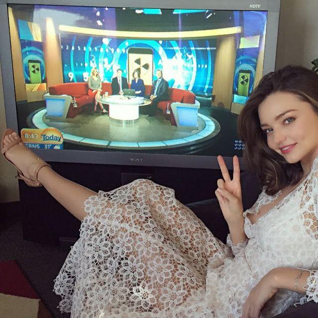 Natasha Sahashi's Style Blog What Makes You Happy ?!  : ミランダ・カー x ツィンマーマン  レース.ドレス(日本語)