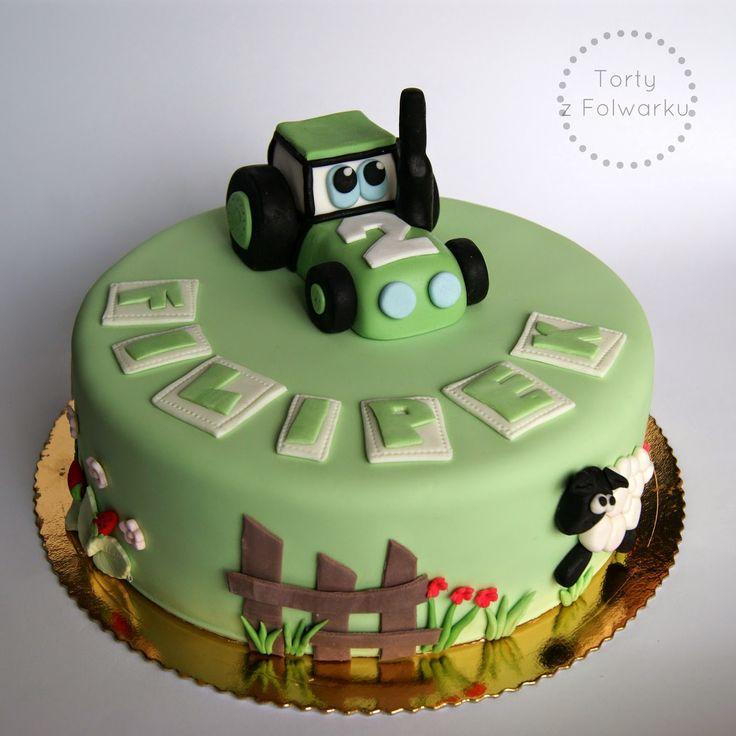 Tractor Cake Design