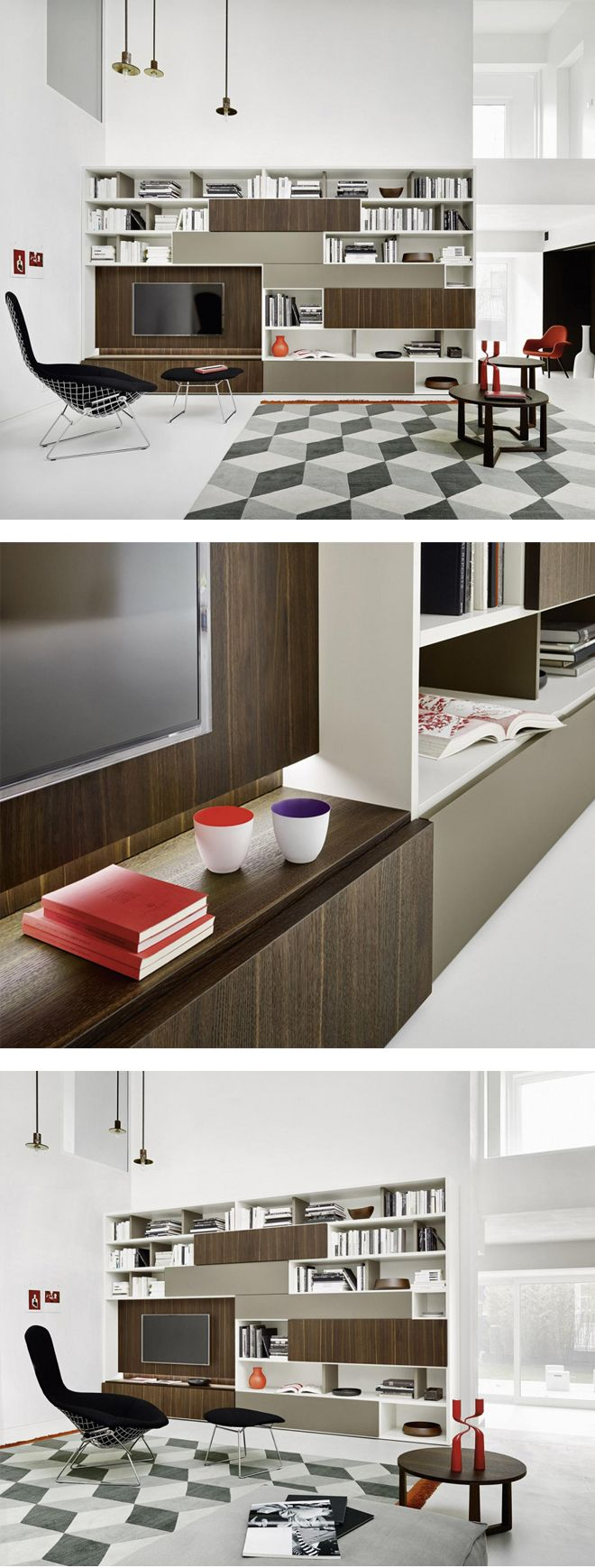 Außergewöhnliche Design Kommode Valeo Von Livitalia Mit Drei Versetzten  Schubladen. #Kommode #chestofdrawers #