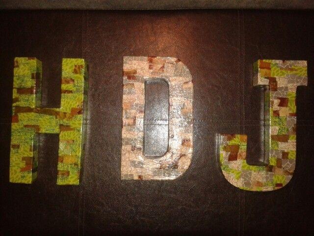 Decopatch letters