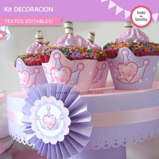 Princesa decoraci n de fiesta ideas y recursos para for Decoracion de princesas