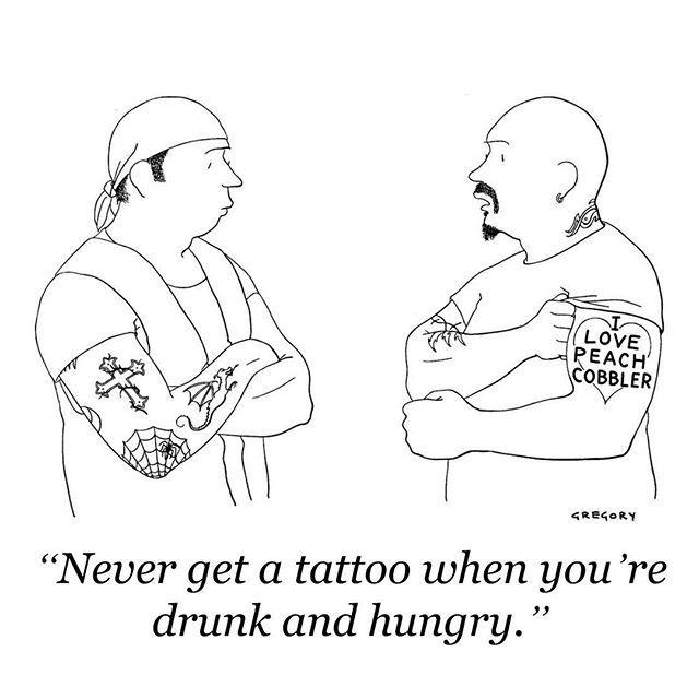 A cartoon by Alex Gregory, #TNYcartoons