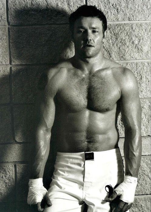 Joel Edgerton shirtless...