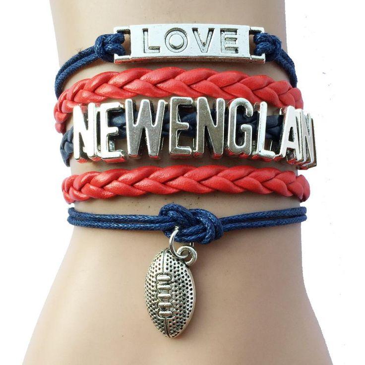 New York Giants NFL Football Team Bracelets-Football Season