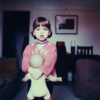 Off to Kindy (SX70) ©Adrian Cook