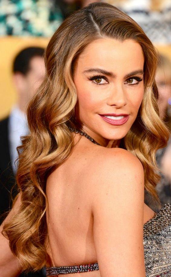 Sofia Vergara. Love the hair