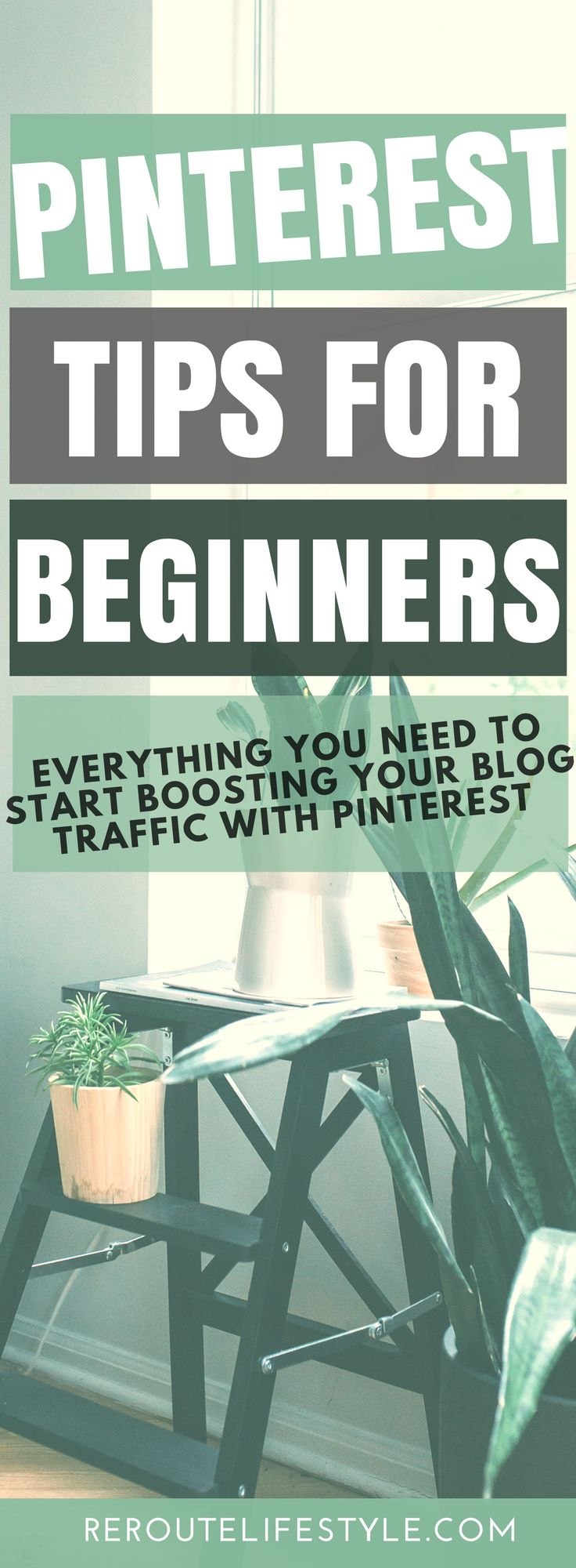 Back to Basics: check out these informative Pinterest Tips for Beginners so you can grow your blog and boost your blog traffic. Learn everything from how to enable rich pins to setting up your profile in a way that makes your Pinterest following grow like WOAH.