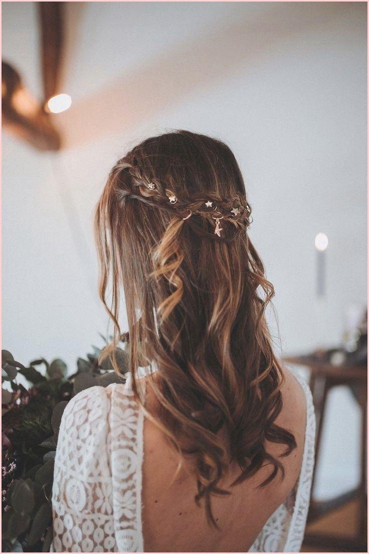 Hochzeitsfrisur Mittellange Haare Offen Geflochtene Frisuren Haare Hochzeit Brautfrisur