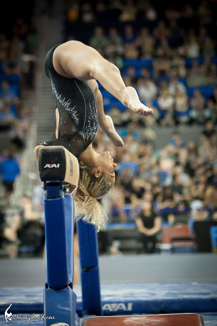 Danusia Francis. If you watch this girl's floor or beam (especially beam dismount) you will not be disappointed