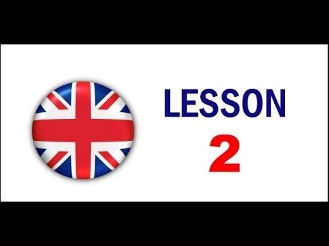 Kurz angličtiny pro samouky: Lekce 2 - YouTube