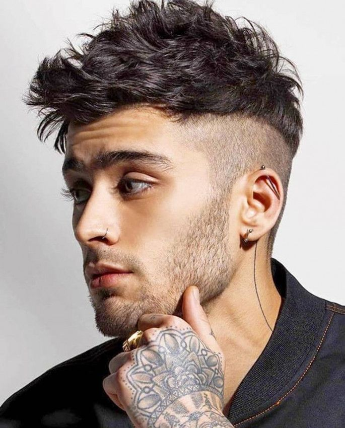 A Perfect Mid Fade Haircut For Men Zayn Malik Hairstyle Haircuts For Men Mens Hairstyles