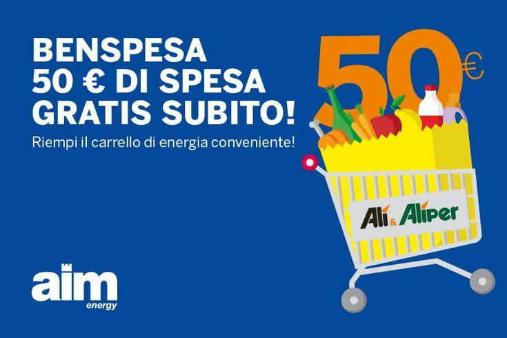Benspesa: 50€ di spesa gratis subito!