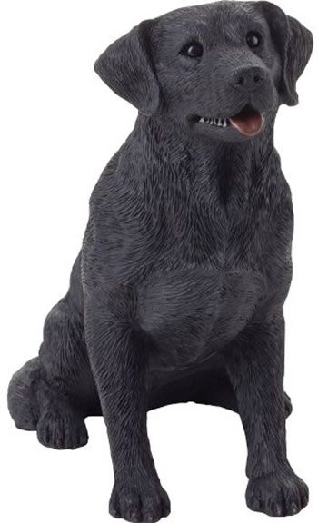 Black Labrador Retriever Dog Figurine By Sandicast, Sandicast Labrador Retriever Dog   · Dog StatuesGarden ...