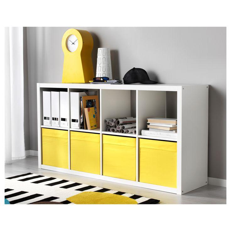kallax shelf unit white j a c k s o n pinterest. Black Bedroom Furniture Sets. Home Design Ideas