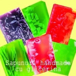 sapunuri handmade cu glicerina
