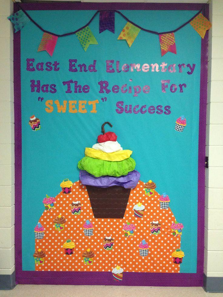 Cupcake Bulletin board.