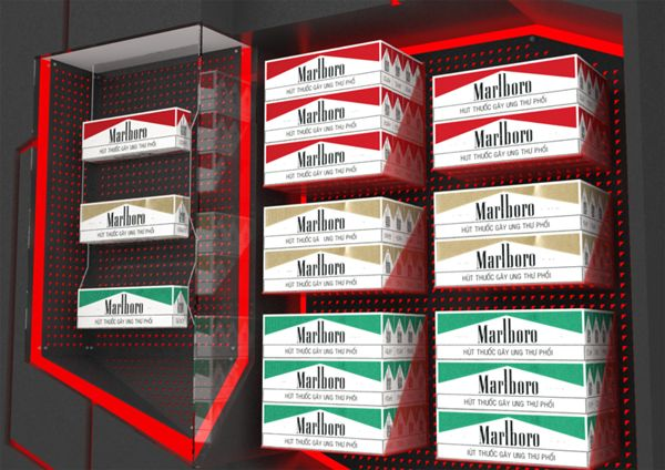 Marlboro Gondola Display on Behance