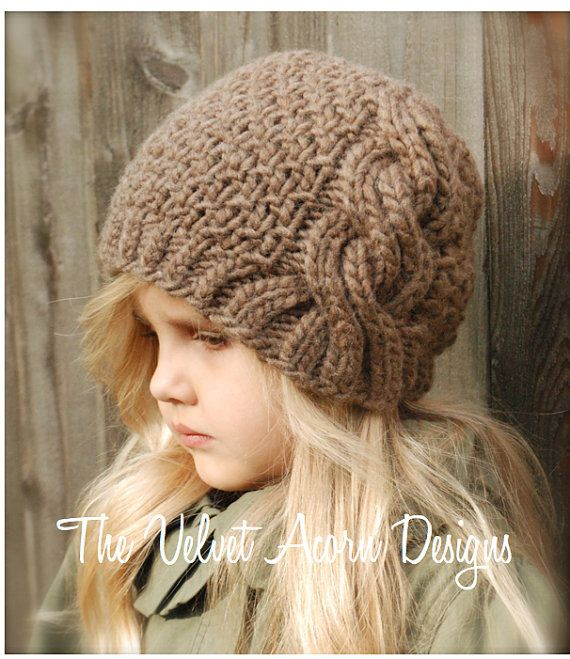 KNITTING PATTERN Greyre Cloche' Toddler Child by Thevelvetacorn