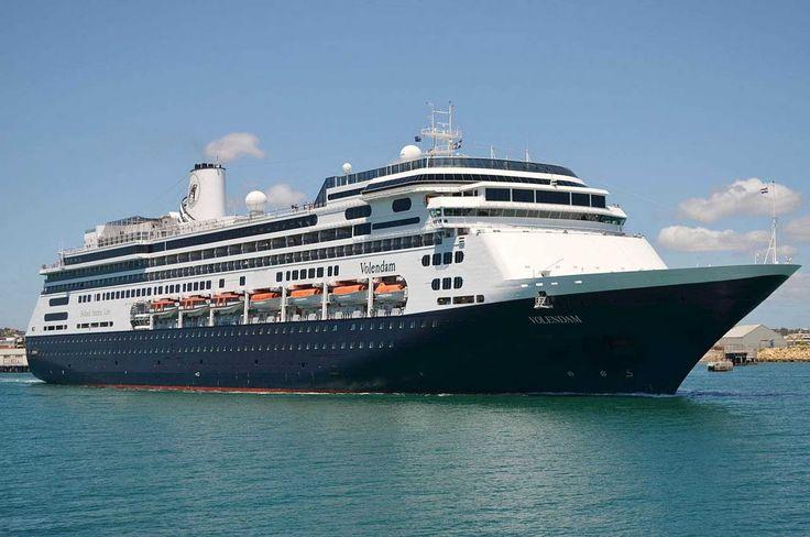 Holland America's Volendamdeparts fromFremantle Harbour in Western Australia. #HollandAmerica #Volendam #Fremantle #Australia #cruise  #ship #mainstream