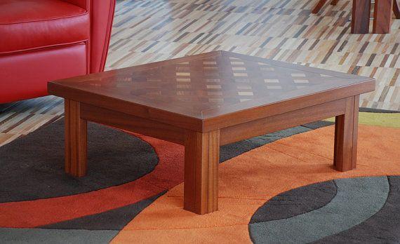 coffee table living salotto furniture di EbanisteriaCavallaro