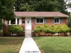 Our very first house, Oakwood Drive, in Falls Church, VA :o)
