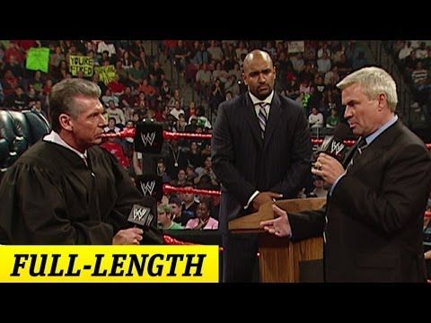 FULL-LENGTH MOMENT - Raw - The Trial of Eric Bischoff